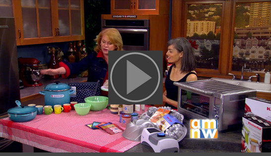 KATU Holiday Gift Ideas With Julie Hasson , featuring Blue Lotus Chai