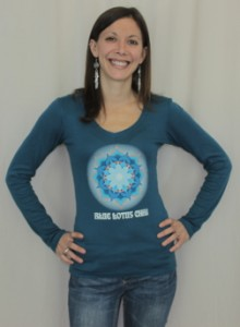Blue Lotus Chai Long Sleeve Tee