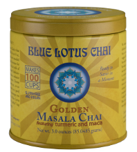 Golden Masala Chai Tin