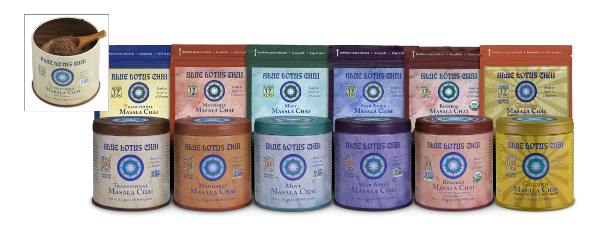Blue Lotus Chai - Our 6 Varieties Of Delicious Masala Chai
