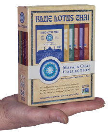 Masala Chai Collection Gift Box - 102 servings in 6 varieties of chai
