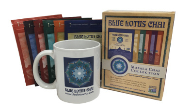 Blue Lotus Chai Mug
