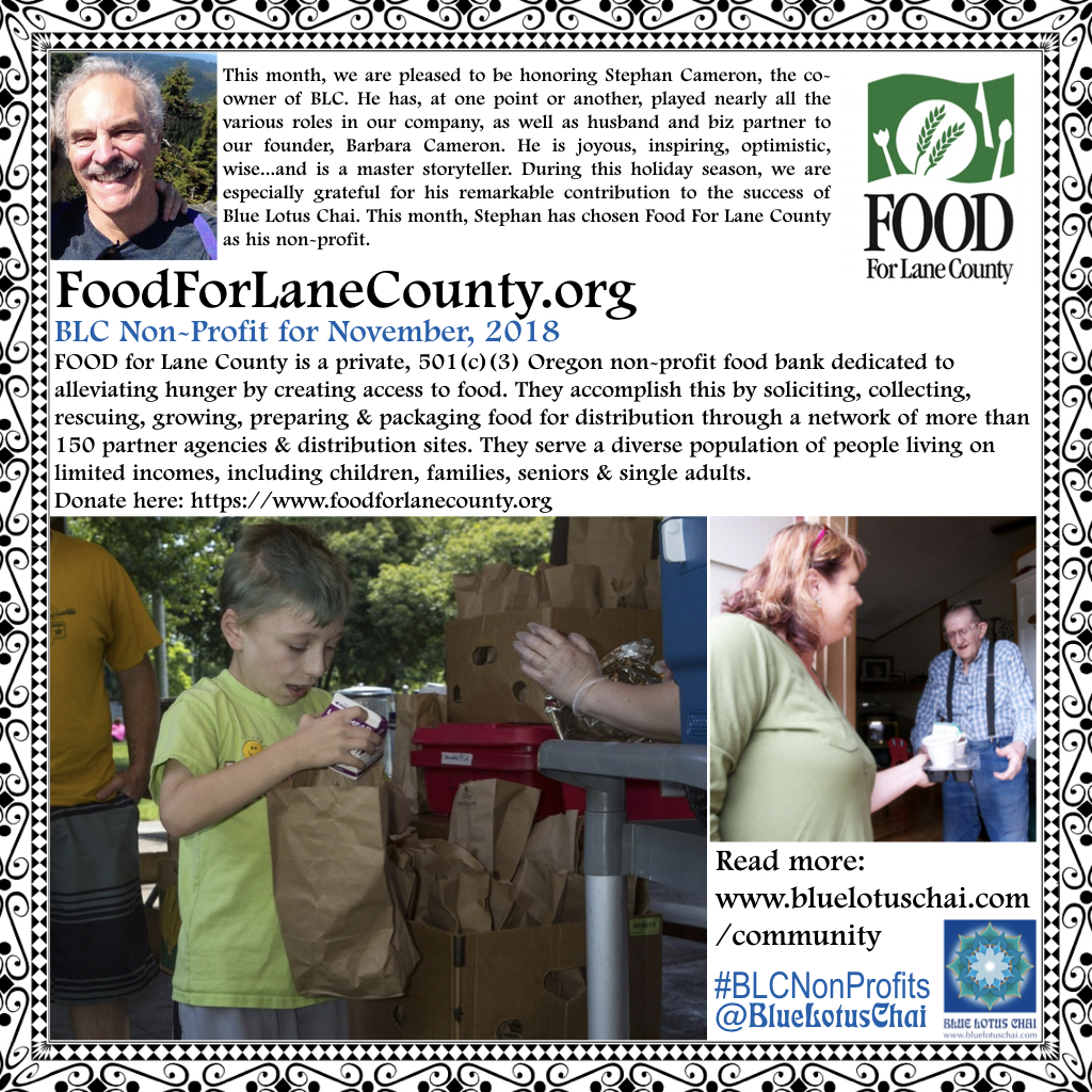 Non-Profit of The Month - November - FoodForLaneCounty.org
