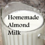 How To Make Almond Milk - 60 second video