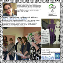 Non-Profit of The Month - March - Center Against Rape and Domestic Violence - CARDV