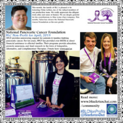 Non-Profit of The Month - April - National Pancreatic Cancer Foundation