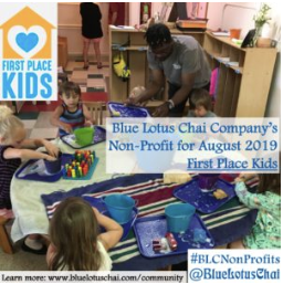 Non-Profit of The Month - Aug - First Place Kids