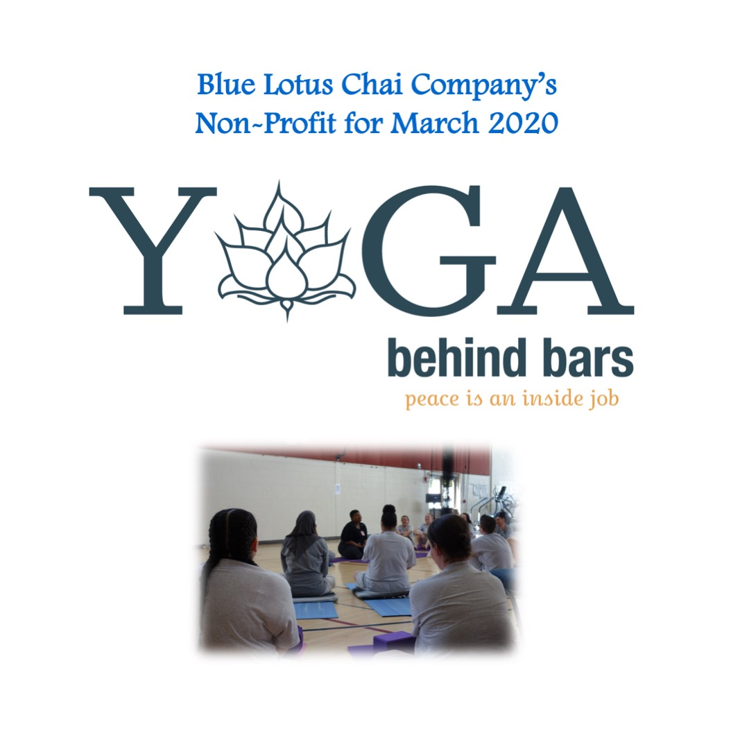 Non-Profit of The Month - March - Yoga Behind Bars