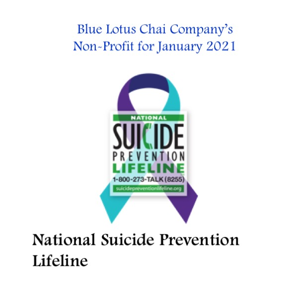 Non-Profit of The Month - January - suicidepreventionlifeline.org